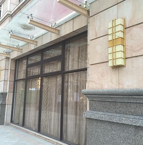 惠州小区户外壁灯工程