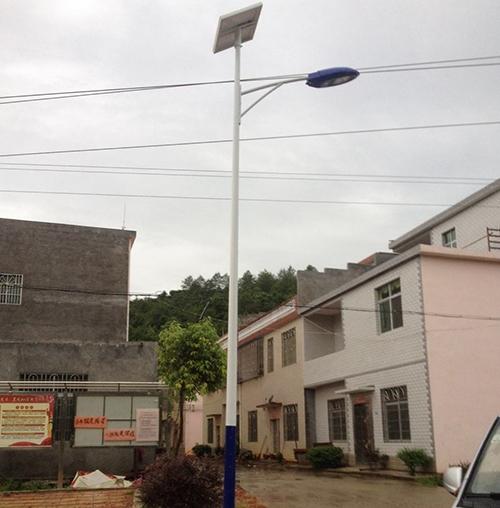 江西赣州太阳能路灯工程