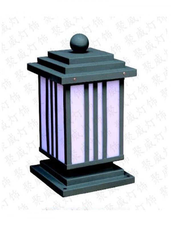 不锈钢柱头灯