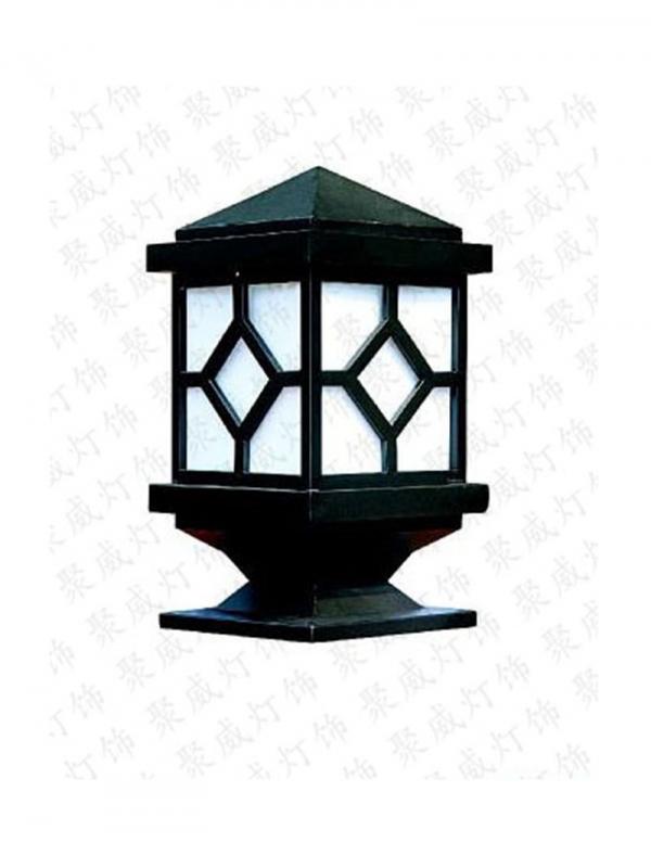 铝制柱头灯